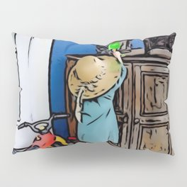 Little Girl Fun Day Pillow Sham