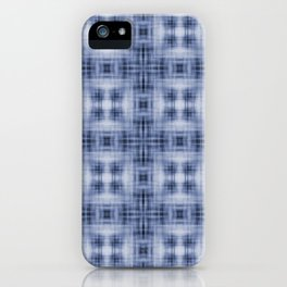 Shibori Japanese Kimono pattern iPhone Case