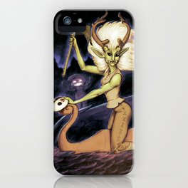 Monster of the Week: the Good Fairy Robin Marcak of the free people iPhone Case