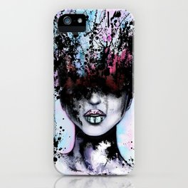 Blurred - Creative Fine Pop-Art iPhone Case