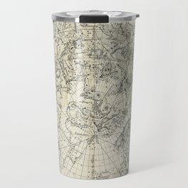 Antique Northern Celestial Hemisphere Map Travel Mug