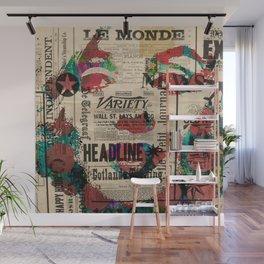sepia Mrs. Monroe Hollywood POP ART CELEBRITY Wall Mural
