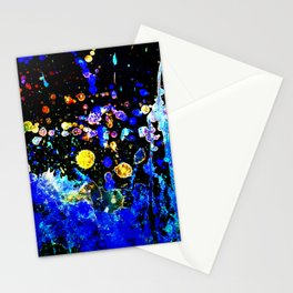 New Life - Abstract Paint Splash Artwork Stationery Cards