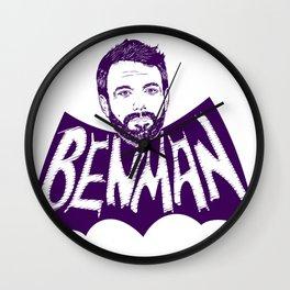 the Ben Man Wall Clock