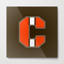 C Metal Print