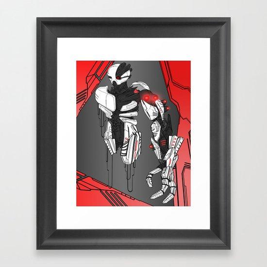 ULTRACRASH 1 Framed Art Print
