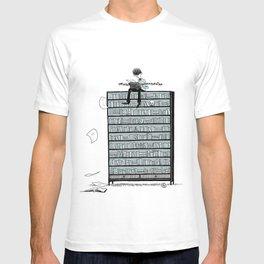 LITTLE DREAMS, BIG BOOKCASE T-shirt