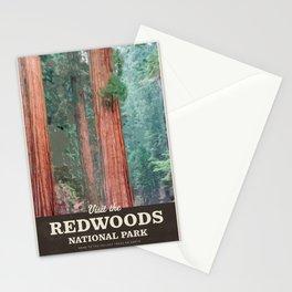 Visit the Redwoods National Park Stationery Cards