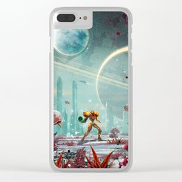 Metroid Clear iPhone Case