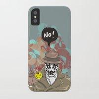 NO! Rorschach Slim Case iPhone X