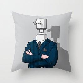 BusinessDispenser Throw Pillow