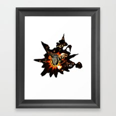 RabbitSunrise - Smashed Lead (T-shirt) 19-08-2010 Framed Art Print