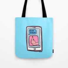 Send Nudes? Tote Bag