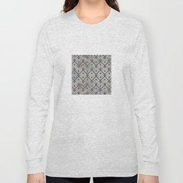 Southwestern Tribal Design Pattern Long Sleeve T-shirt