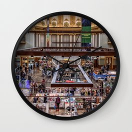 Shopping Fever Wall Clock
