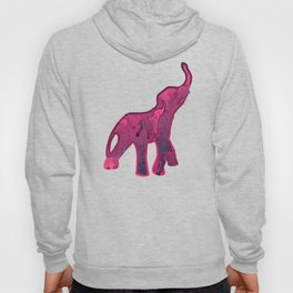 Elephants Stars Pattern Hoody