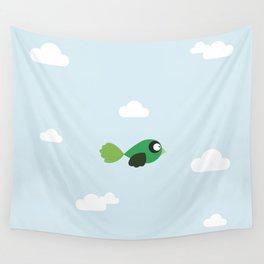 Flying bird Wall Tapestry