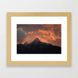 The Sheltering Sky Framed Art Print