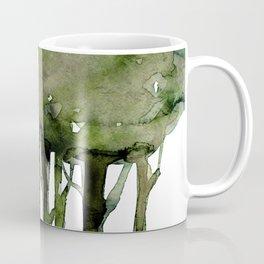 Tree Impressions No. 2J by Kathy Morton Stanion Coffee Mug