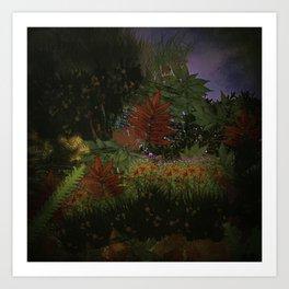 The Mystical Garden Art Print