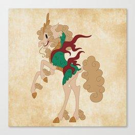 Japanese Unicorn Canvas Print