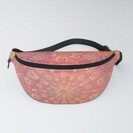 """Coral & Rosewood Mandala (pattern)"" Fanny Pack"