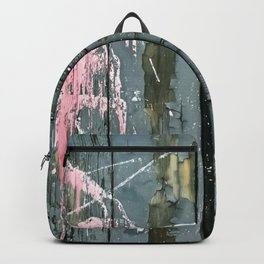 Action Painting 01 Backpack
