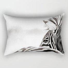 Abstract Zebra Rectangular Pillow