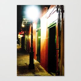 Pirate Alley  Canvas Print