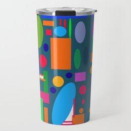 Random Art Travel Mug