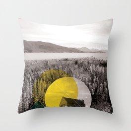 Sojourn series - Lake Tekapo Throw Pillow