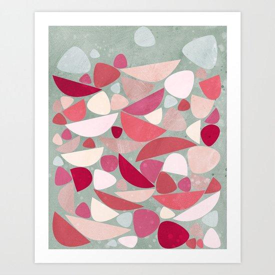 Sea Bed Art Print