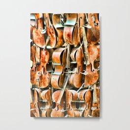 Violins Metal Print