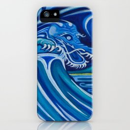 Water Dragon iPhone Case