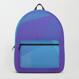 Purple Geometry Backpack