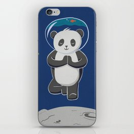 Astro yoga panda iPhone Skin