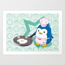 N°2 - Chef Art Print