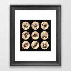 Tree Girl Series (Colour) Framed Art Print