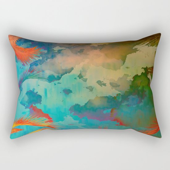 A place for lying down and look up / Botanic Rectangular Pillow