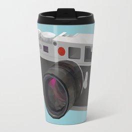 Leica M9 Camera polygon art Travel Mug