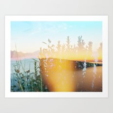 From 3pm to the Sunset Art Print