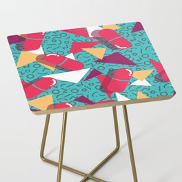 Pills Pattern 014 Side Table