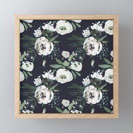Rustic Floral Print Framed Mini Art Print