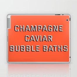 CHAMPAGNE CAVIAR BUBBLE BATHS Laptop & iPad Skin