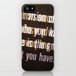 Get it iPhone Case