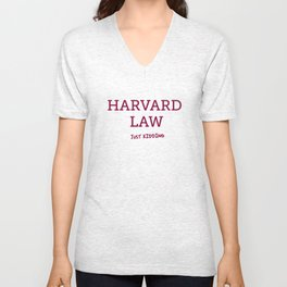 Harvard Law Unisex V-Neck