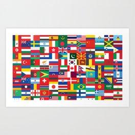 All Flags Art Print