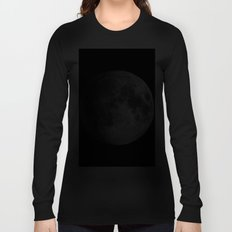 The Full Moon Super Detailed Print Long Sleeve T-shirt