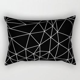 Bedlam Black Rectangular Pillow
