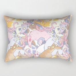 Fancy Rat Pattern Rectangular Pillow